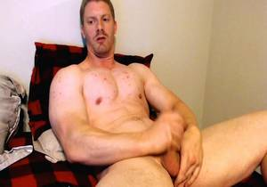 Patrick, straight male shows his huge dick on cam