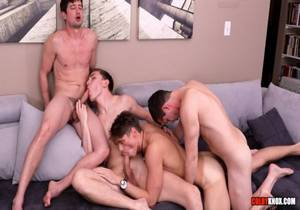 Epic Fucking 4-Way – Colby Chambers, Mason Dean, Mickey Knox & Troy Accola