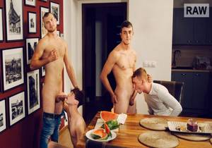 Wank Party #126, Part 1 RAW