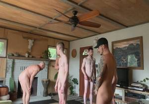 Naked Yoga with Pierce Paris Part 1