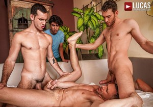 Cuckolds And Alpha Cocks – Alfonso Osnaya, Andrey Vic, Charlie Cherry, Ricky Hard